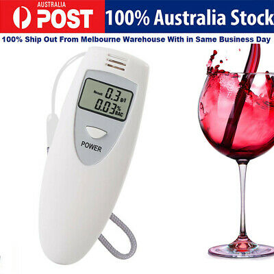 New Portable MINI Digital LCD quick Alcohol Breath Tester Analyzer Breathalyzer