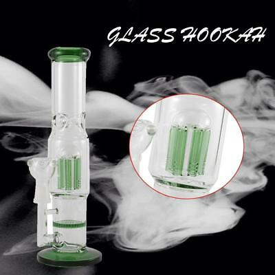 Collectible Tobacco Glass Water Pipe Bubbler Smoking Bong Hookah Rig Pipe