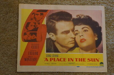A Place In The Sun  Elizabeth Taylor  Montgomery Clift  Close Up   1951  Lc#8