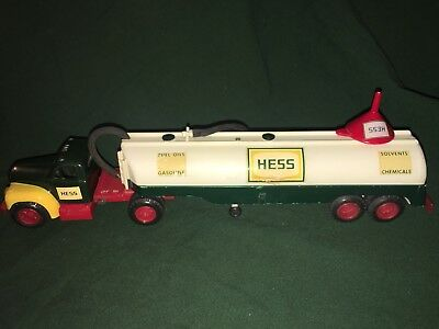 1964 Hess Tanker Truck, lights work, vintage, collectible, antique, Marx Toys !!