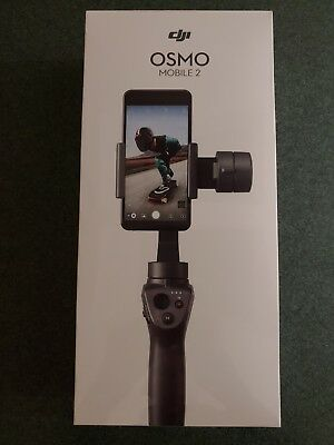 DJI Osmo Mobile 2 Handheld Gimbal Stabilizer for Smartphones - Black