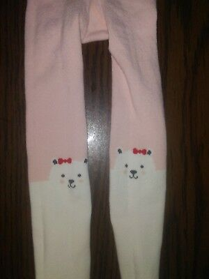 Girls Toddler 2t 3t Tights Polar Bears