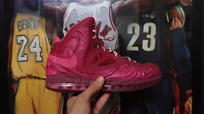 7b90f8ab587a Nike Air Max Hyperposite Raspberry Red Cherry Blossoms Basketball Shoes  LeBron