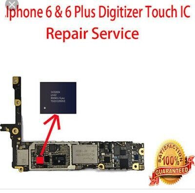 iPhone 6 Plus Touch IC Replacement - No Touch / Touch Disease Meson Repair