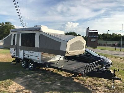 2012  toy hauler pop up w/ 3 slide outs,,used but like new