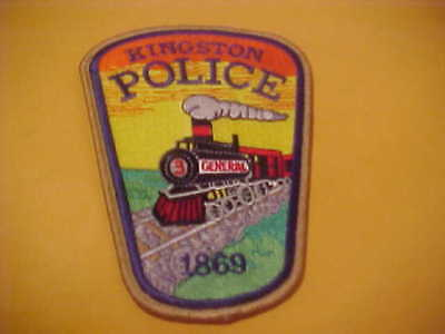 Kingston Georgia Police Patch Shoulder Size Unused M