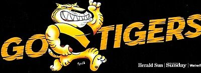 Afl 'go Tigers!' -  Richmond 2017  Bumper Sticker