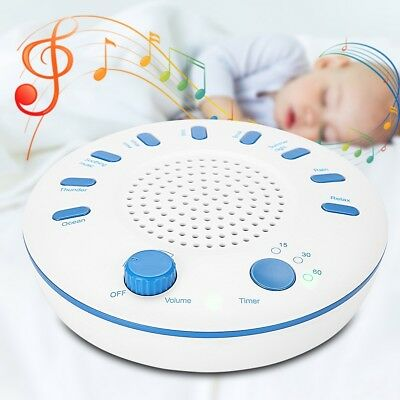 Sound Therapy Spa Relaxation Aid 9 White Noise Sleep Easy Conditioner Machine