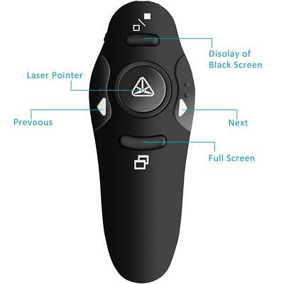 ABS 2.4GHz USB Wireless Remote Control Presentation Mouse Presenter PPT Clicker