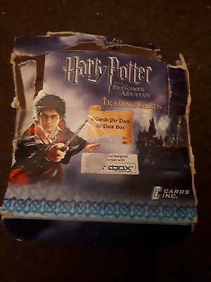 Harry Potter And The Prisoner Of Azkaban Trading Cards Complete Box