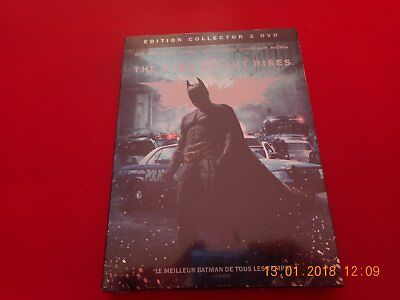 """DVD EDITION COLLECTOR """" THE DARK KNIGHT RISES"""" neuf"""