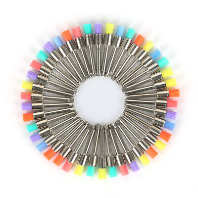 Dental Lab Materials Colorful Nylon Latch Small Flat Polishing Prophy Brushes HR