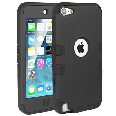 For iPod Touch 6th 5th Gen Premium Hybrid HARD & SOFT RUBBER HIGH IMPACT Case