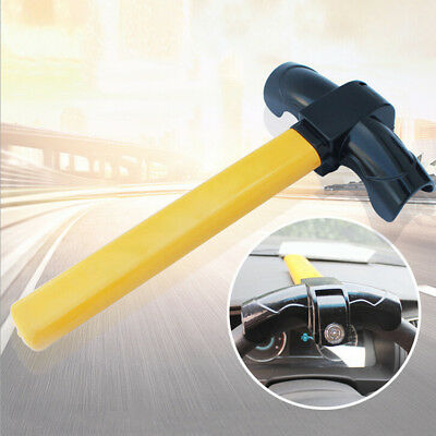 Universal Car Steering Wheel Lock Anti Theft Clamp Security Safety Lock T Style