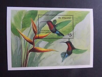 St Vincent 1989 Doctor Bird MS MS1248(b)  MNH UM unmounted mint