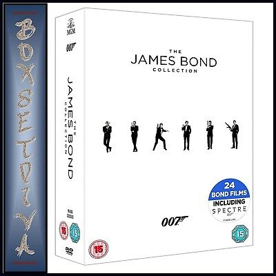 James Bond - 24 Film Collection  *brand New Dvd Boxset***