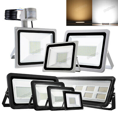 PIR LED Floodlight 10W 20W 30W 50W 100W Outdoor Garden Security Flood Light 12V