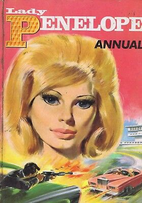 Lady Penelope AnnualGerry Anderson Thunderbirds1966 Book