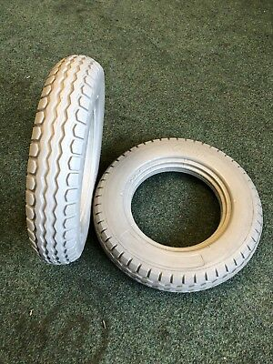 12 1/2 X 2 1/4 (type 62-203) Solid Tyres For An Electric Wheelchair