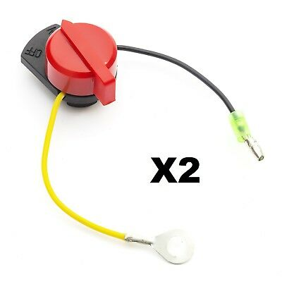 2 Power Kill Switch Fits G100 GX100 GX110 GX120 GX160 GX200 GX240 GX270