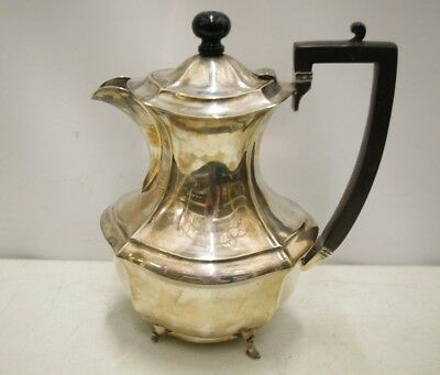 Vintage EPNS  S.S.P Ltd Coffee Pot 25 cm H
