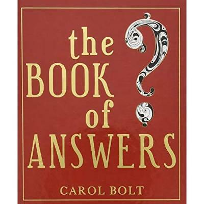 The Book of Answers Carol Bolt