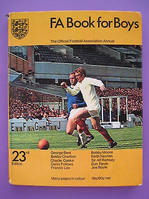 Vintage F A Book For Boys 23rd Edition  The Official Football Association Annual