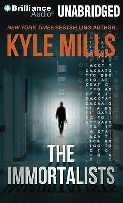 The Immortalists by Kyle Mills (2011, CD, Unabridged)