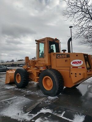 1990 Case wheel loader 721 B
