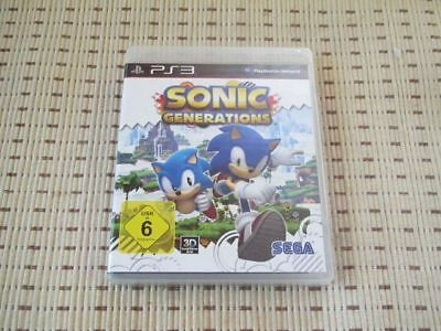 Sonic Generations für Playstation 3 PS3 PS 3 *OVP*