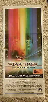 Star Trek The Motion Picture 1979 Origianal Australiano Daybill Póster Película