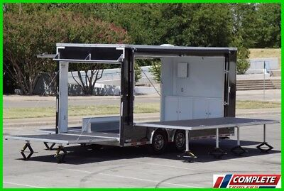 IN STOCK Custom ATC Aluminum Mobile Marketing Stage Trailer: Electrical