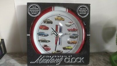 The History of Mustang Clock/ Automobile Mustang  Clock