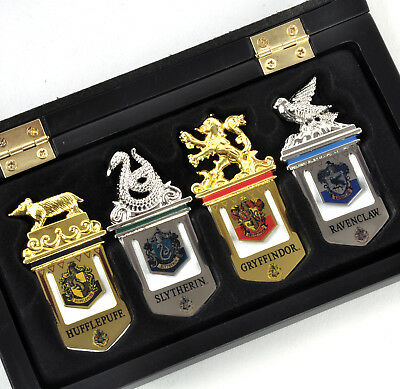 Harry Potter Hogwarts House Crest Pins Badges Gold Silver Plated Replica Prop