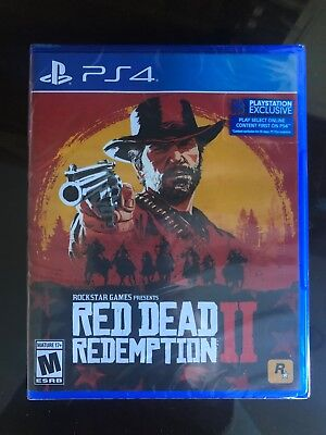 BRAND NEW/SEALED PS4 RED DEAD REDEMPTION 2 - Playstation Exclusive