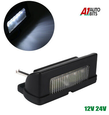 Universal 5 LED License Number Plate Light Lamps for Truck SUV Trailer Lorry