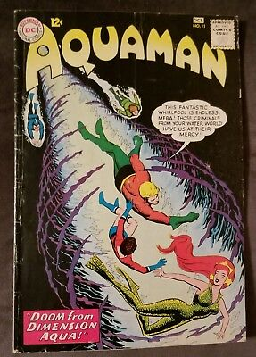 AQUAMAN #11 - 1st Series - 1963 - 1st App of MERA from the NEW MOVIE!
