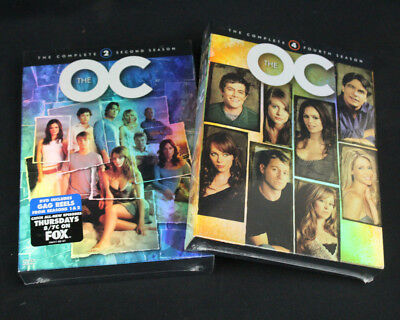 The O.C. Complete Second & Fourth Season 2 & 4 DVD Sets Region 1 NTSC New/Sealed