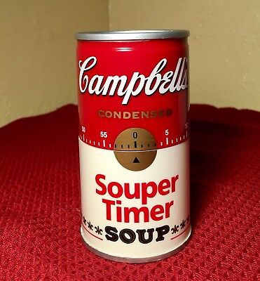 Campbell's Condensed Souper Timer Unused With Box