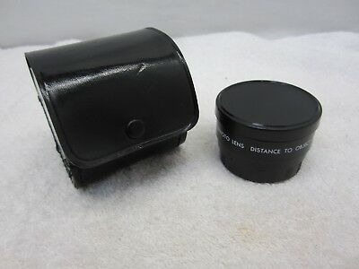 Zykkor AUX Telephoto Lens Distance To Object 2M Made In Japan With Case