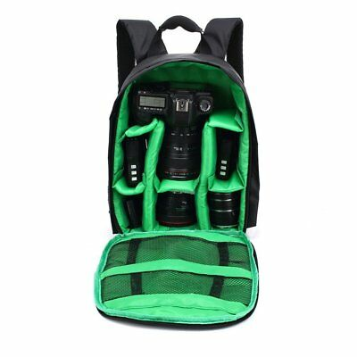 DSLR Camera Video Waterproof Backpack Shoulder Bag Case For Canon Nikon Sony ND