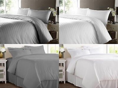 Duvet Cover 400 Tc Thread Count Hotel Quality 100% Egyptian Cotton Bedding Sets