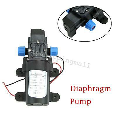 DC12V 60W 5L/Min Micro Electric Diaphragm Pump Water Self Priming Pump Easy Use
