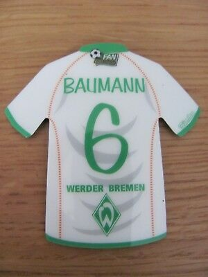 Simba Fan Collection Magnet  - Fussball : Werder Bremen - 6 Baumann