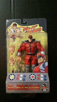 Brand New SOTA Toys Street Fighter Round 1 M. Bison Action Figure Rare