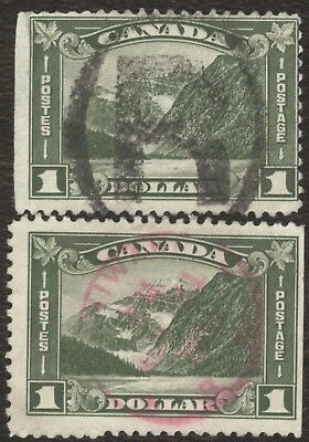 Stamps Canada # 156, 12¢, 1929, lot of 2 used stamps.