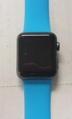 Apple Watch 1st Gen Sport Series 7000 38mm 8GB Rose Gold With Blue Band