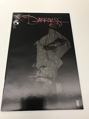 The Darkness #1 Black Cover variant Marc Silvestri NM- 9.2 Printing Blemishes
