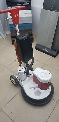 "Victor floor scrubber / buffer / polisher 17"" with vacuum, drive board and pads"