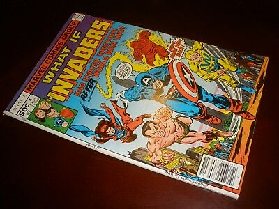Marvel Comics What If ? # 4 Nice Copy Invaders